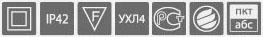 Параметры светильника «ЮНИОР» BS-831-1X4